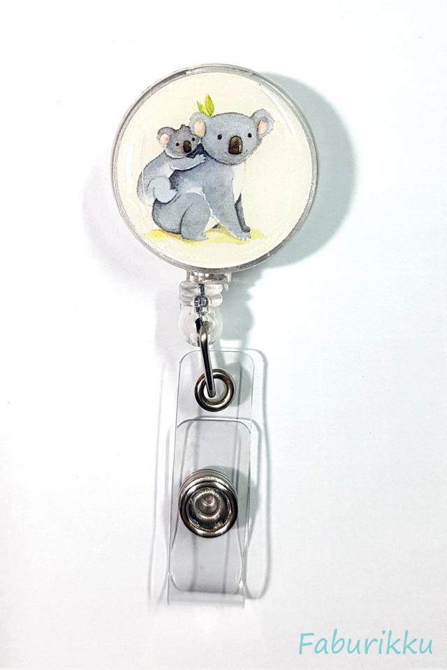 Animal Koala Clip-On Badge Reel