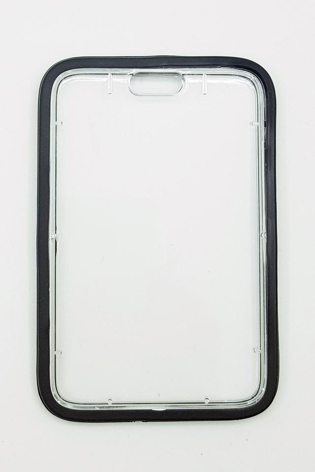 Black Silicon Hardcase Deluxe Card Portrait