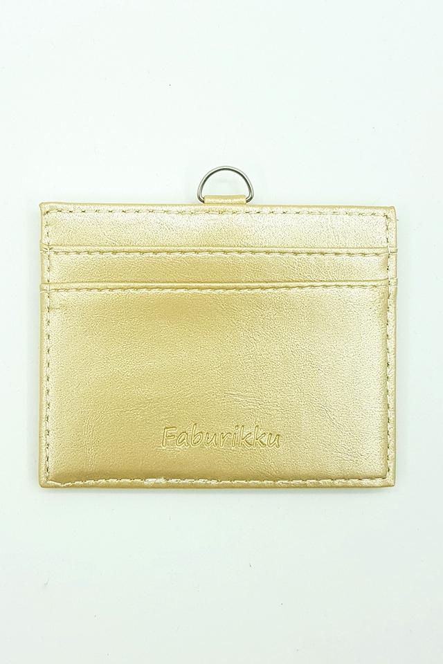Gold Soft PU Deluxe Card Landscape