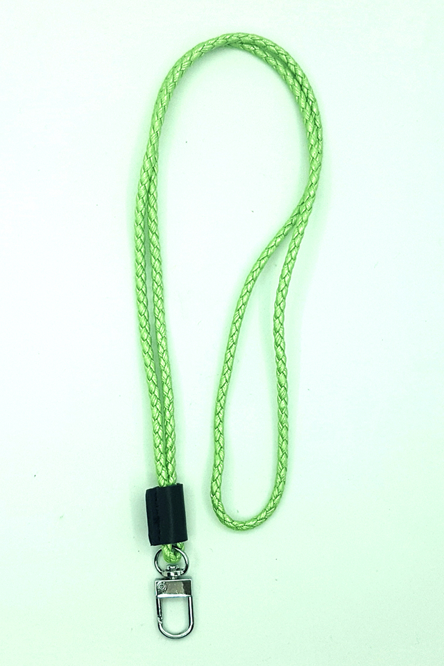 LImegreen Tweed Deluxe Lanyard