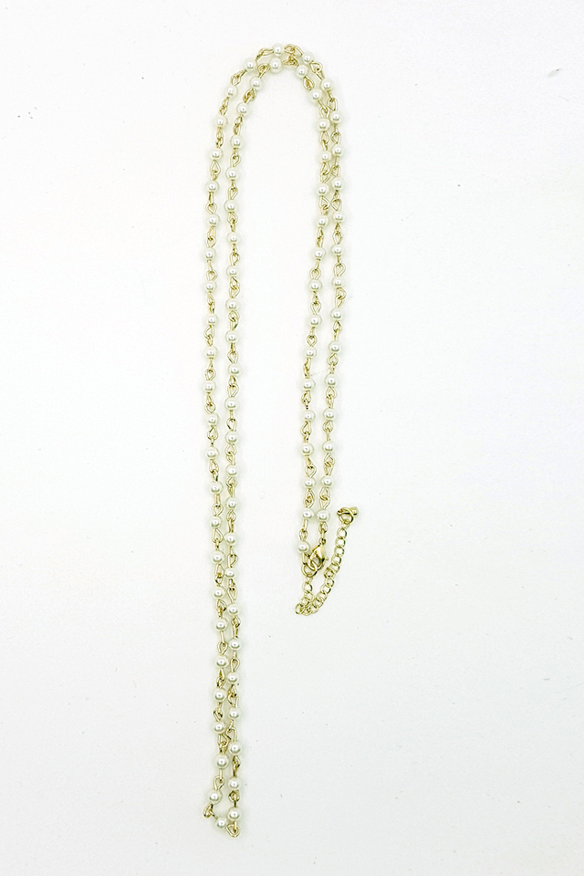 Premium White Necklace Lanyard