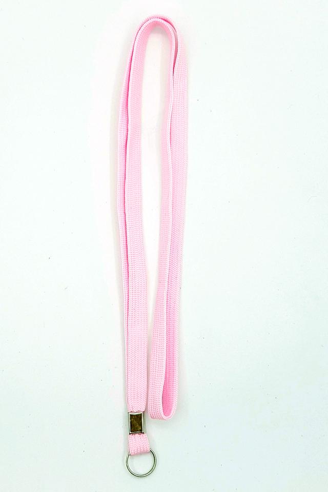 Pink Basic Lanyard
