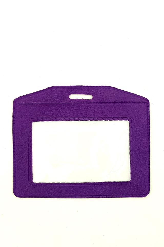 Purple Basic Card Landscape