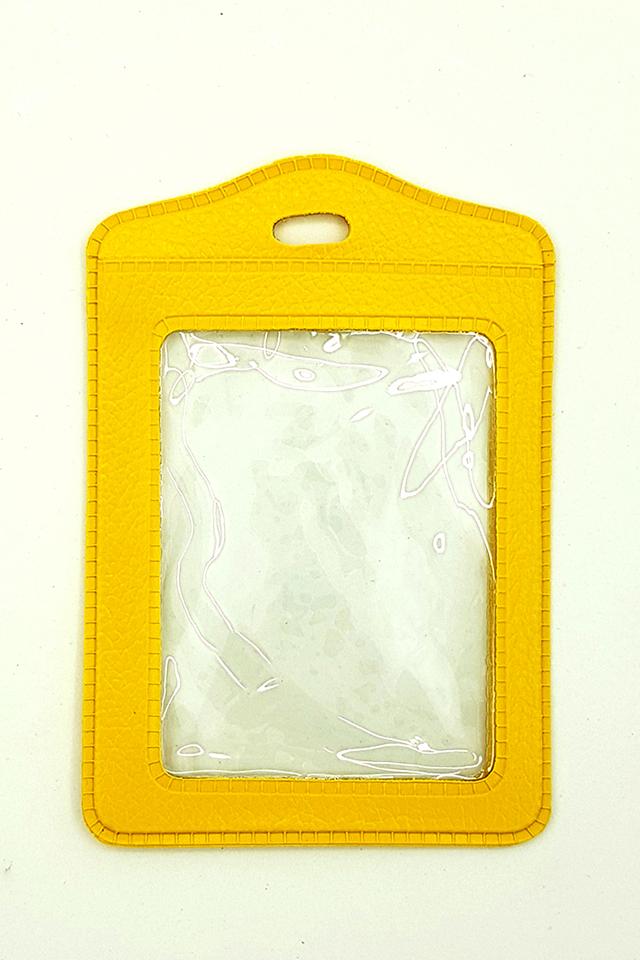 Yellow Basic Card Portrait