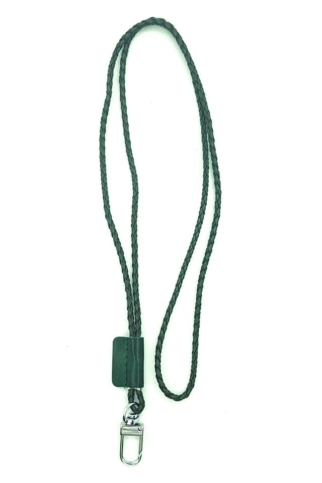 Olivegreen Tweed Deluxe Lanyard