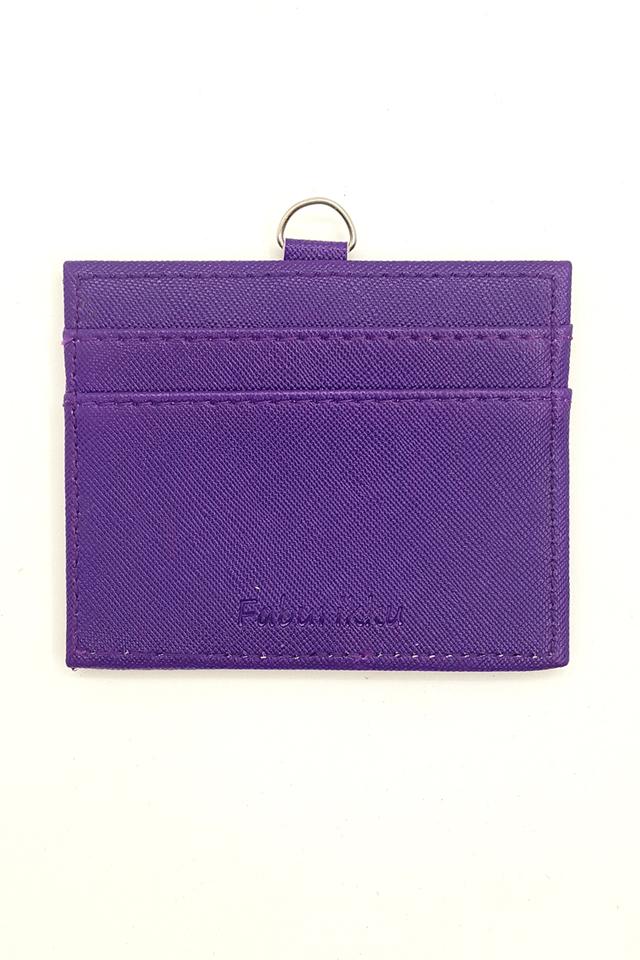 Purple Hard PU Deluxe Card Landscape