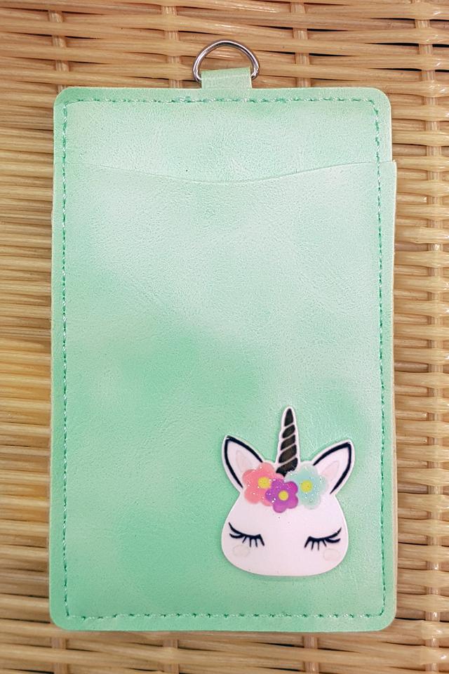 Mint Unicorn Premium Card Portrait