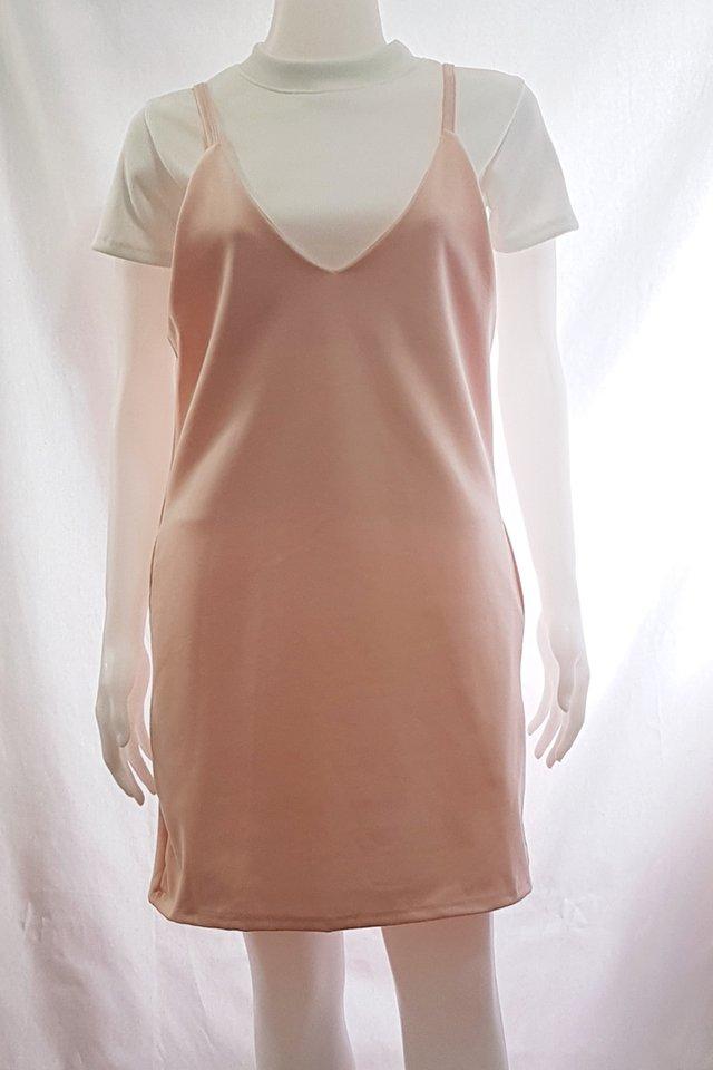 Slip On Dress Pink