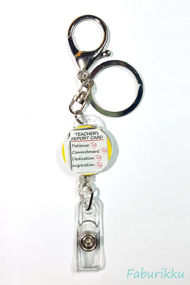 Quotes TeacherReport Hook-On Badge Reel