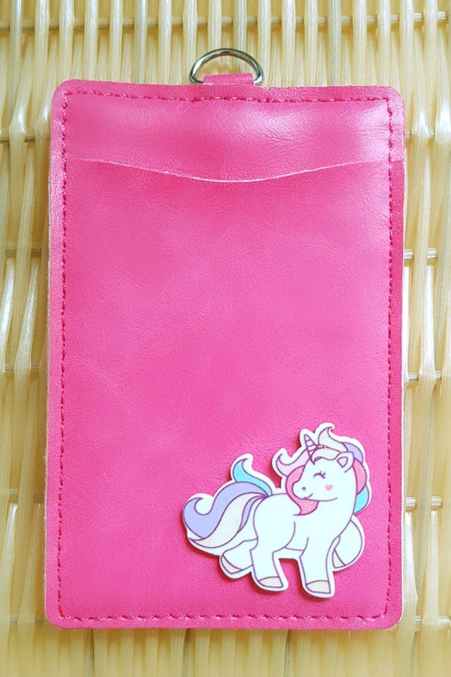 Magenta UnicornFull Premium Card