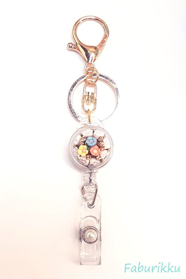 Multicol Bouquet Jewel Exclusive Hook On BadgeReel