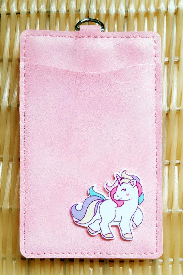 Pink UnicornFull Premium Card