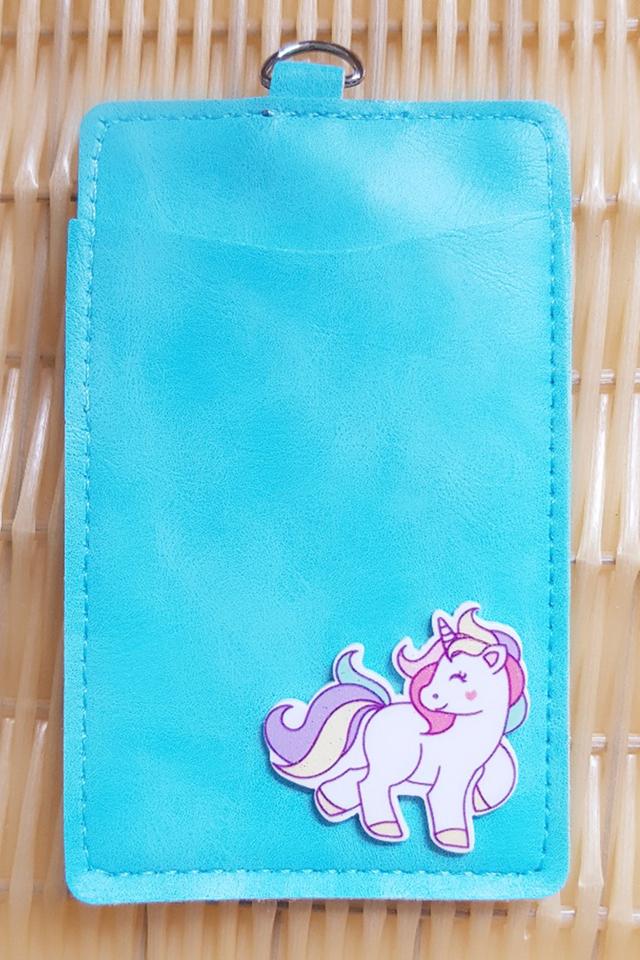 SkyBlue UnicornFull Premium Card