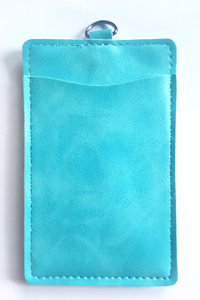 Puffy Deluxe Cardholder Blue