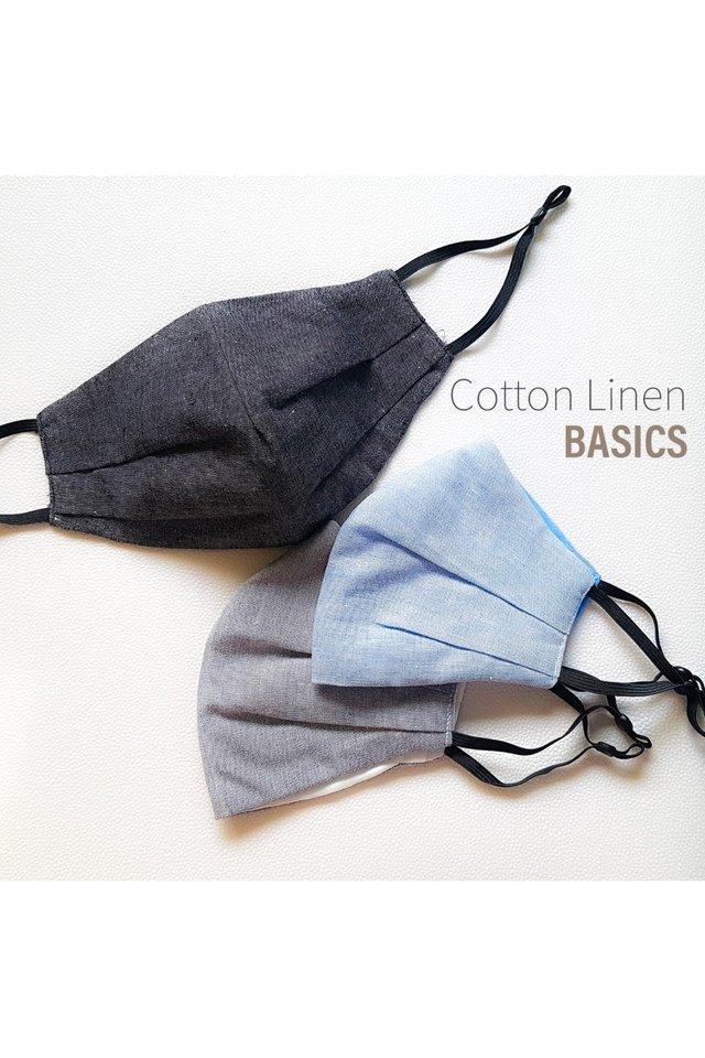 Cotton Linen Basics Cloth Mask
