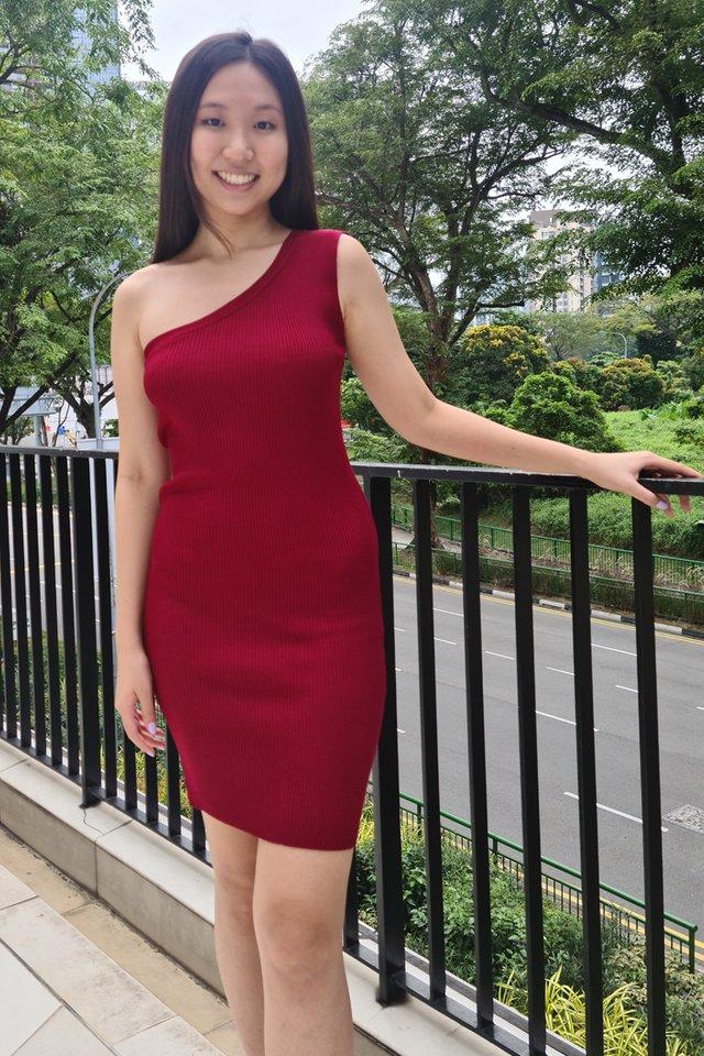 Amber Toga Knit Dress (6 colours)