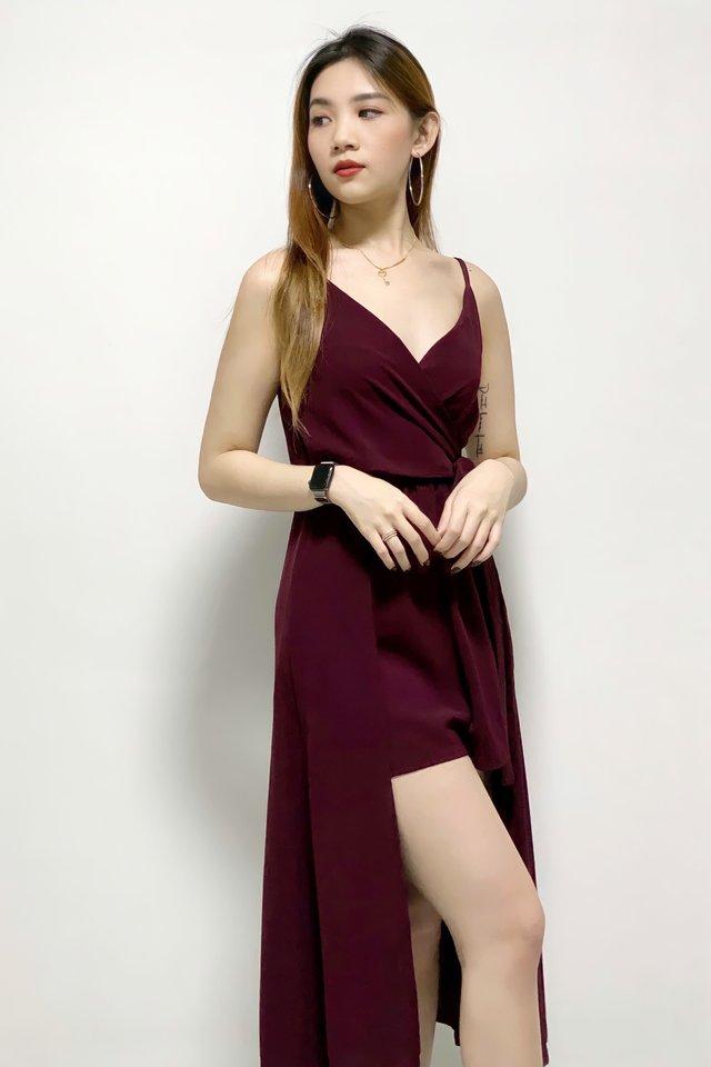 Luxe Wrap Romper Dress (3 colours)