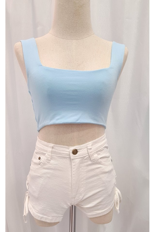 Basic Square Crop Top (7 Colours)