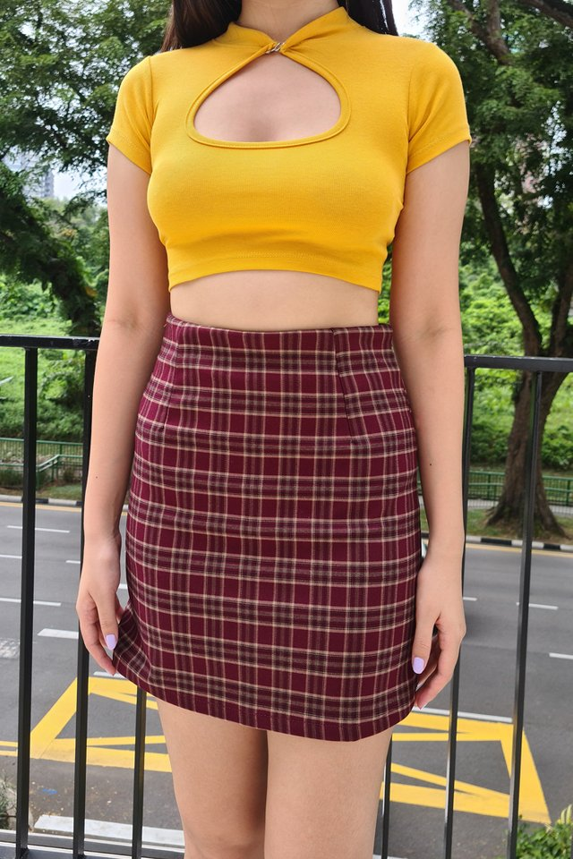 Robyn Check Skirt (2 colours)